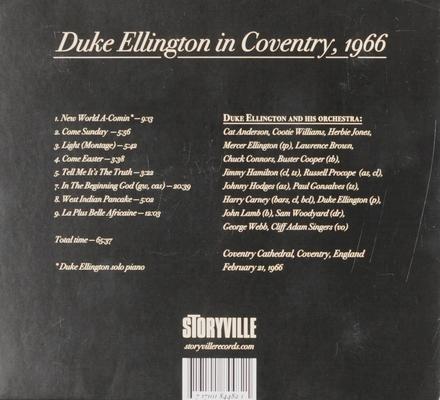 Duke Ellington in Coventry, 1966