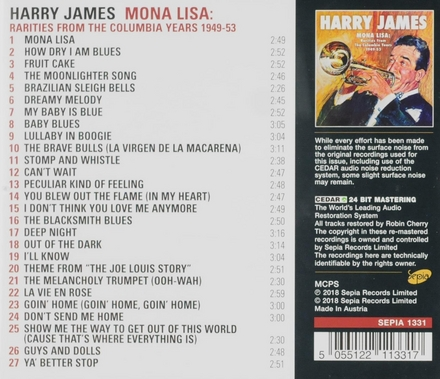 Mona Lisa : Rarities from the Columbia years 1949-53