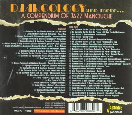 Djangology and more... : a compendium of jazz manouche (aka gypsy jazz)