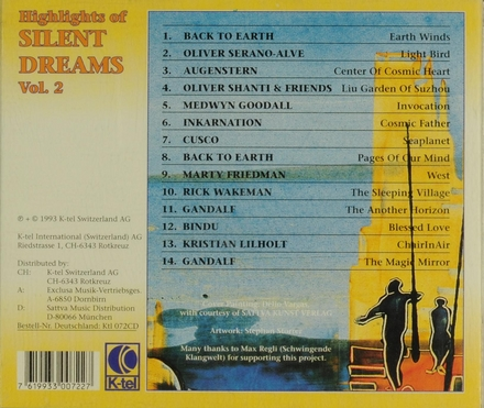 Highlights of silent dreams. vol.2