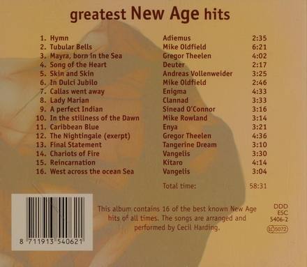Greatest New Age hits