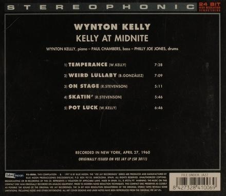 Kelly at midnite