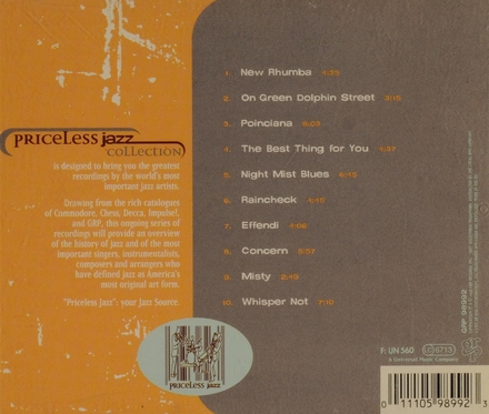 Priceless jazz collection
