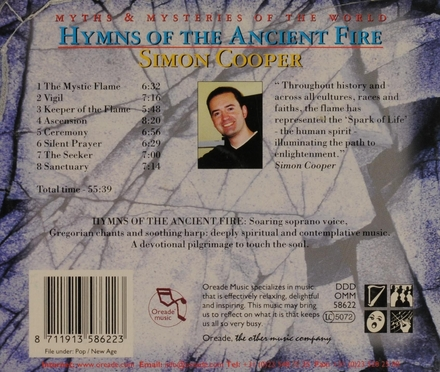 Hymns of the ancient fire