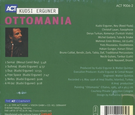 Ottomania : Sufi jazz project