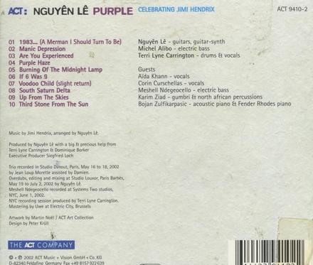 Purple : celebrating Jimi Hendrix