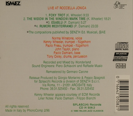 Live at Roccella Jonica