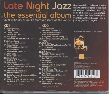 Late night jazz : the essential album