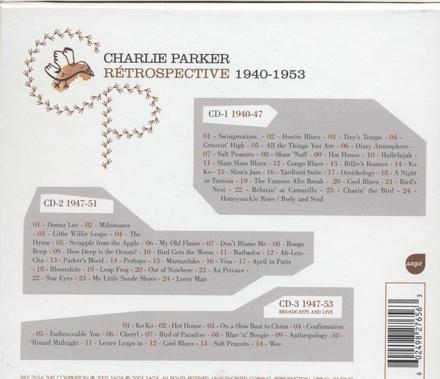 Rétrospective : 1940-1953