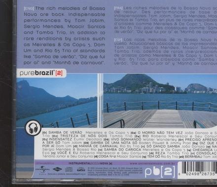 Pure Brazil : instrumental bossa nova. vol.2