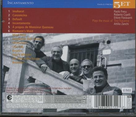 Incantamento : Paolo Fresu Quintet plays the music of Tino Tricanna