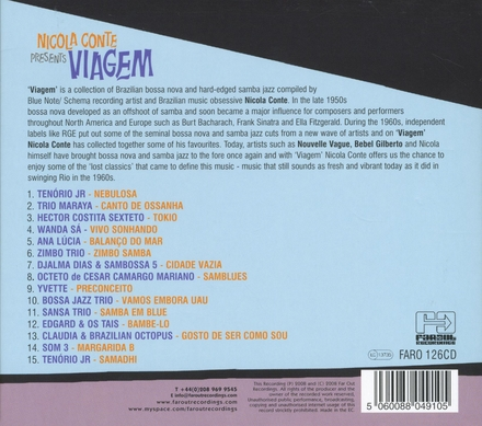 Nicola Conte presents Viagem : a collection of 60's Brazilian bossa nova & jazz samba