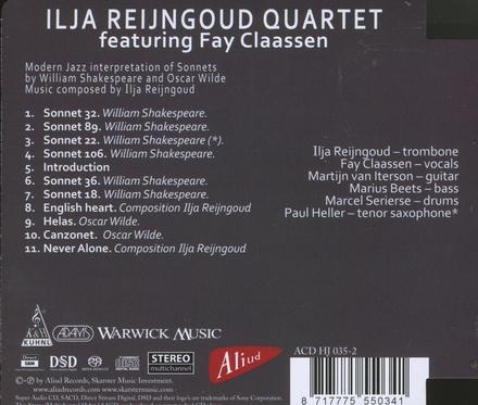 The Shakespeare album : modern jazz interpretation of sonnets by William Shakespeare and Oscar Wilde