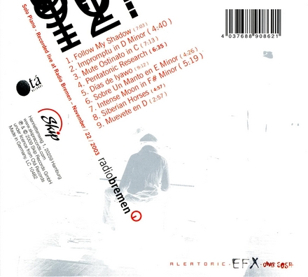 Aleatoric EFX : Live solo concert