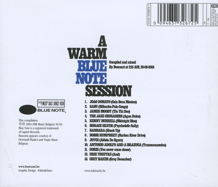 Blue Note's sidetracks : a warm Blue Note session. vol.2