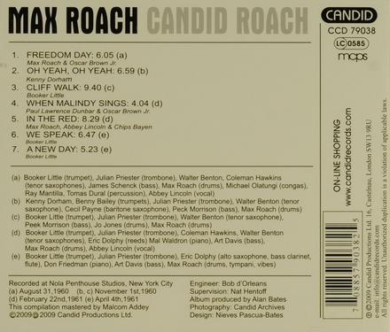 Candid Roach