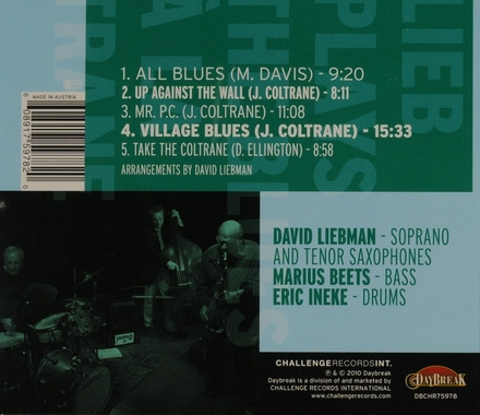 Lieb plays the the blues à la Trane