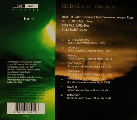 Re-dial : live in Hamburg