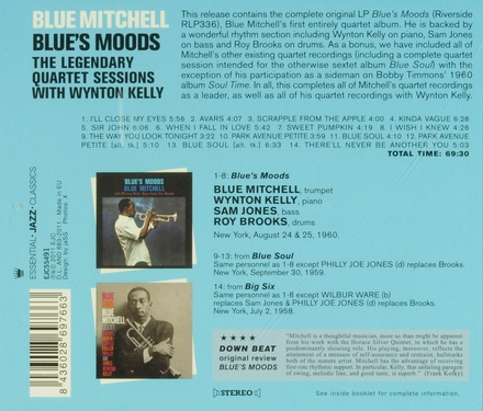 Blue's moods : The legendary quartet sessions