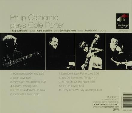 Philip Catherine plays Cole Porter