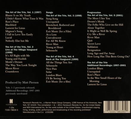 The art of the trio : recordings 1996-2001