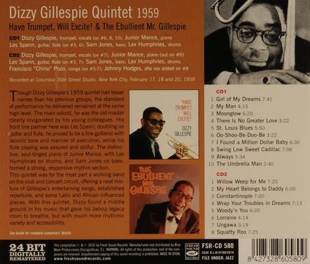 Have trumpet, will excite! ; The ebullient Mr. Gillespie