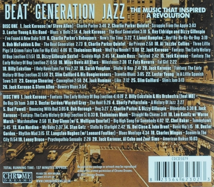 Beat generation jazz : the music that inspired a revolution