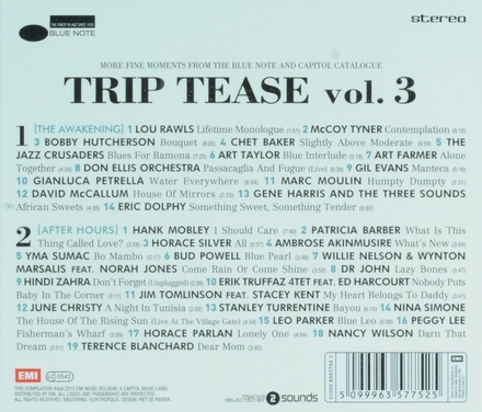 Triptease. Vol. 3, More fine moments from the Blue Note and Capitol catalogue