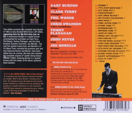 Who is Gary Burton?