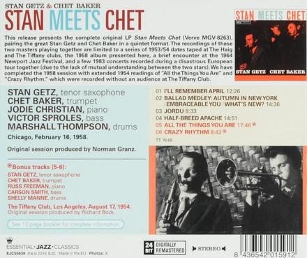 Stan meets Chet