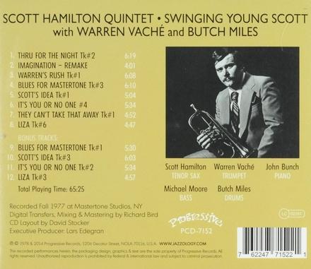 Swinging young Scott