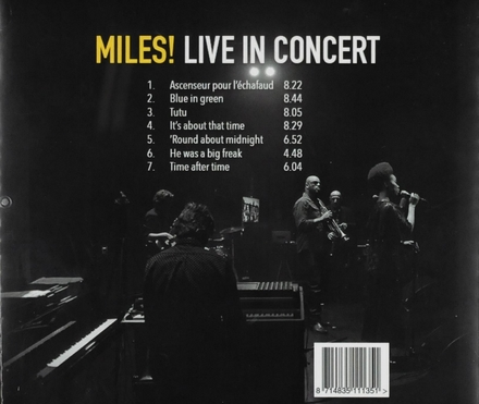 Miles! : Live in concert