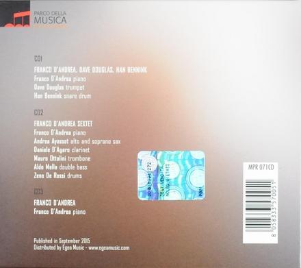 Three concerts : Live at The Auditorium Parco della Musica
