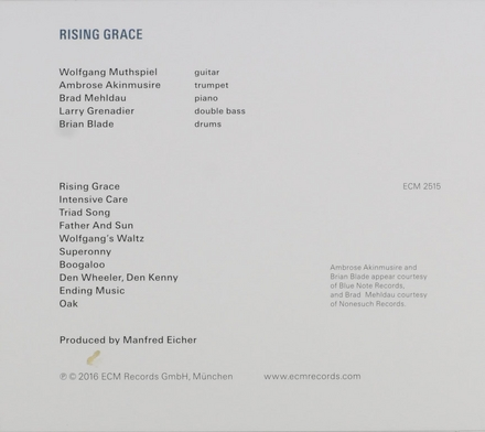 Rising grace