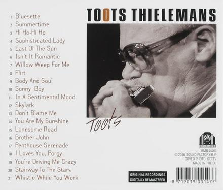 The legendary Toots Thielemans : featuring bluesette