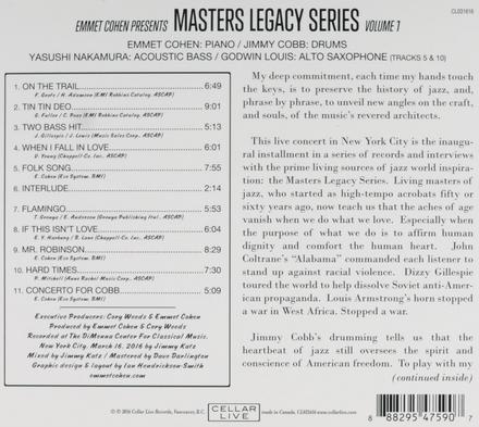 Masters legacy series. vol.1