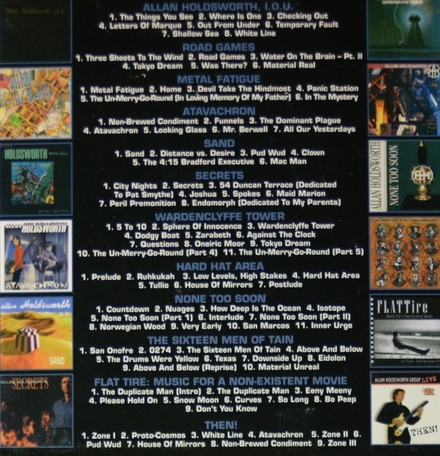 The man who changed guitar forever! : The Allan Holdsworth album collection