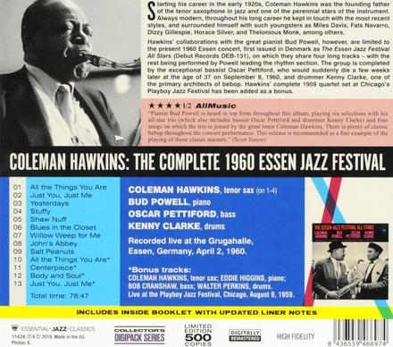 The complete 1960 Essen Jazz Festival