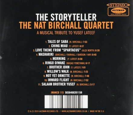 The storyteller : A musical tribute to Yusef Lateef