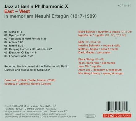 Jazz at Berlin Philharmonic X : East-West