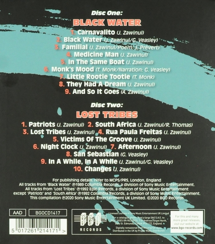 Black water ; Lost tribes