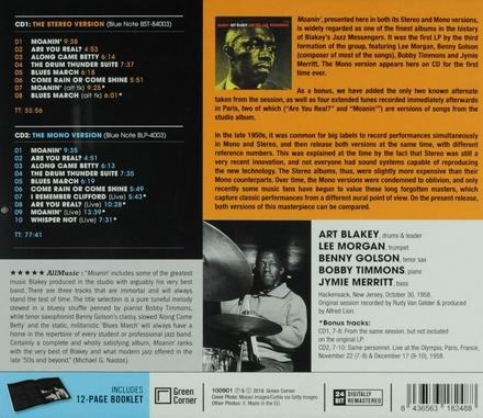 Moanin' : the stereo & mono versions