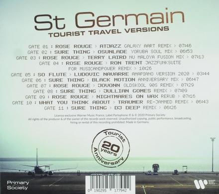Tourist 20th anniversary : Tourist Travel versions