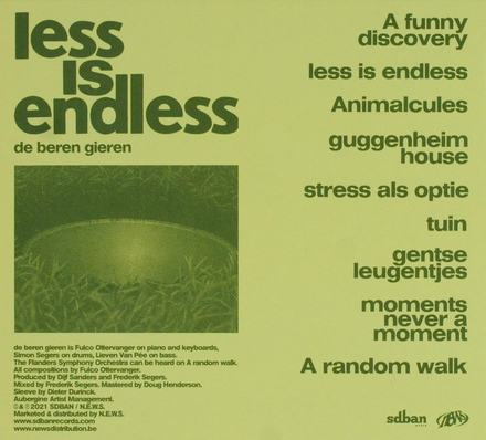 Less is endless