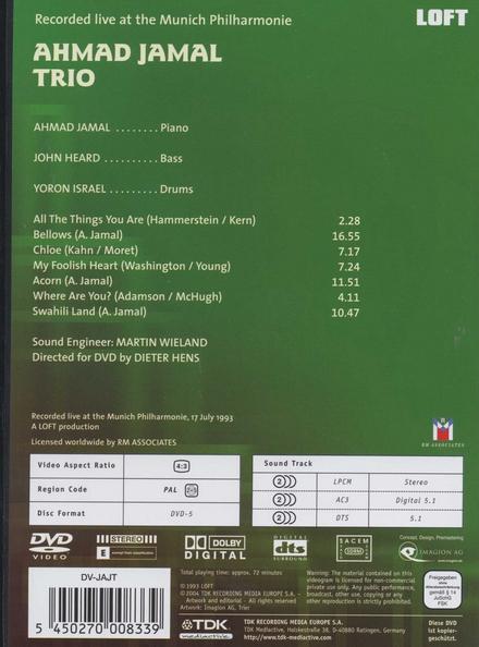 Live at the Munich Philharmonie 1993