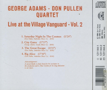 Live at Village Vanguard. vol.2