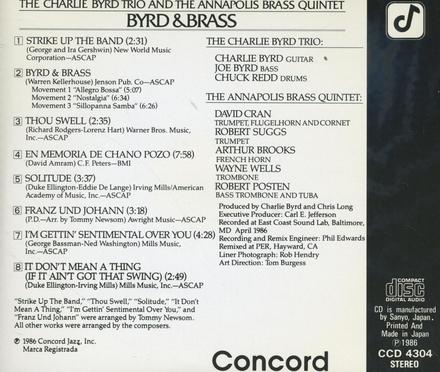 Byrd & brass
