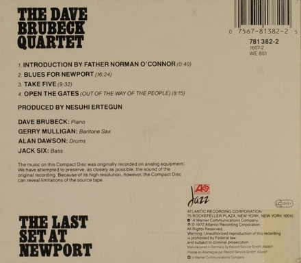 The last set at Newport