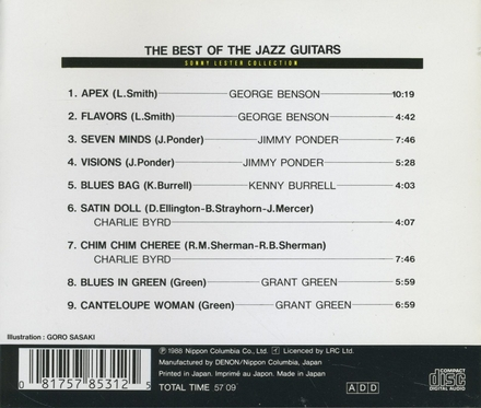 The best of the jazz guitars