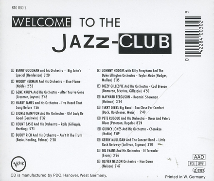 Jazz club - big band